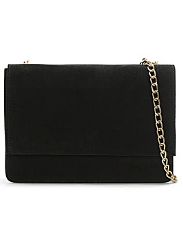 Daniel Milla Suede Chain Shoulder Bag