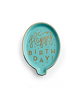 Rosanna Happy Birthday Balloon Tray