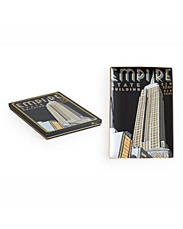 Rosanna Empire State Building Tray