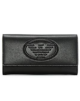 Emporio Armani Logo Continental Wallet