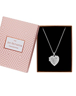 Jon Richard Heart Locket Necklace