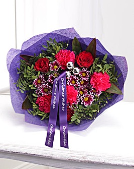 Personalised Cool Christmas Bouquet