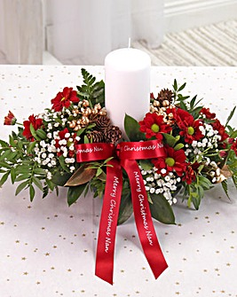 Red Small Table Arrangement
