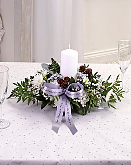 White Small Table Arrangement