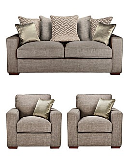 Larissa 3 Seater plus 2 Chairs
