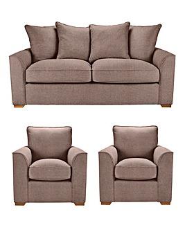Ripley 3 Sofa Plus 2 chairs