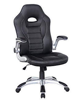 Monza Faux Leather Racing Chair