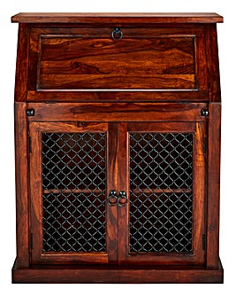 Jaipur Sheesham Wood Bureau