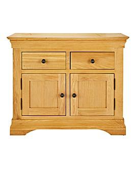 Malvern Oak Veneer Small Sideboard