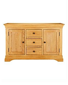 Malvern Oak Veneer Large Sideboard