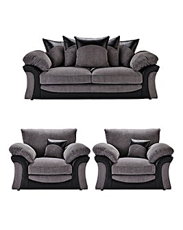 Montana 3 Seater Sofa plus 2 Chairs