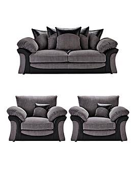 Montana 3 Seater Sofa plus 2 Chairs