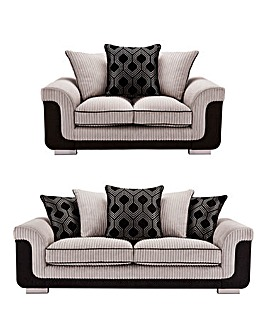Cosmo 3 plus 2 Seater Sofa