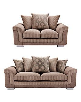 Cosmo 3 plus 2 Seater Sofa