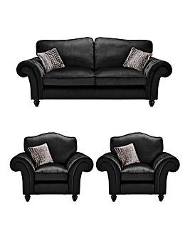 Bellagio 3 Seater Sofa plus 2 Chairs