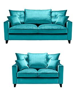 Boheme 3 plus 2 Seater Sofa