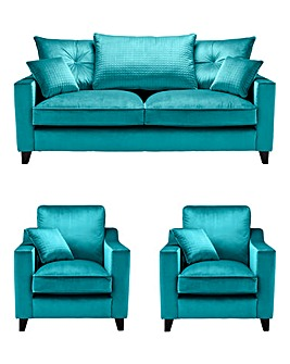 Boheme 3 Seater Sofa plus 2 Chairs