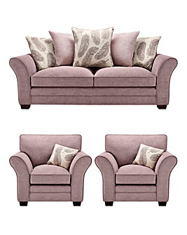 Freya 3 Seater plus 2 Chairs