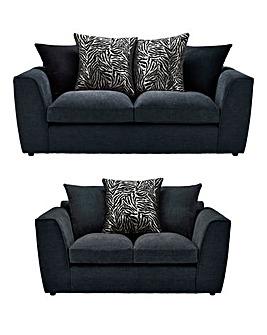 Zanzibar 3 Seater plus 2 Seater Sofa