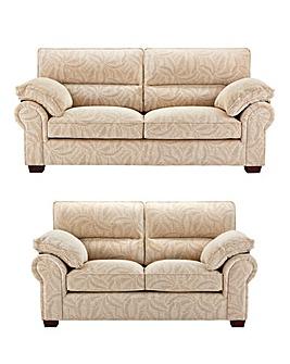 Wadebridge 3 Seater plus 2 Seater Sofa