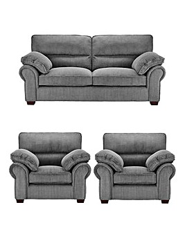 Wadebridge 3 Seater Sofa plus 2 Chairs