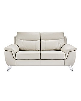 San Remo Leather 2 Seater Sofa