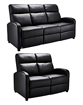 Hudson 3 plus 2 Seater Recliner Sofa