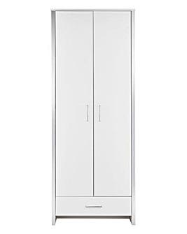 Mono 2 Door 1 Drawer Wardrobe