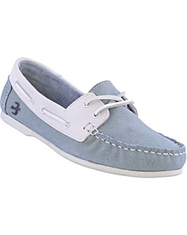 Brakeburn Blue Deck Shoe