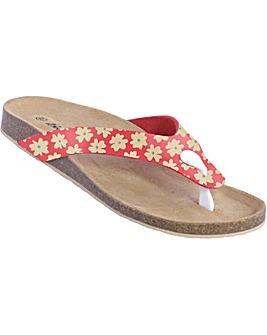 Brakeburn Delicate Daisy Flip Flop