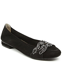 Daniel Stockton Black Diamante Pump