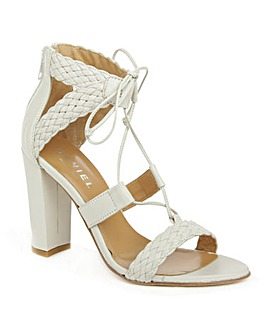 Daniel Palm Springs White Sandal