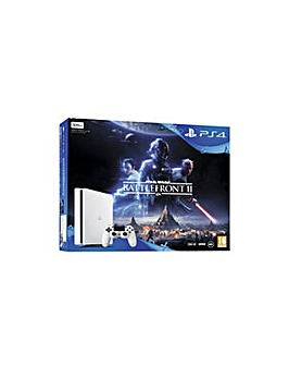 PS4 Slim 500GB White Inc Star Wars