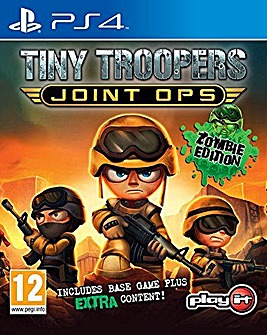 Tiny Troopers Joint Ops Zombie Edtn PS4