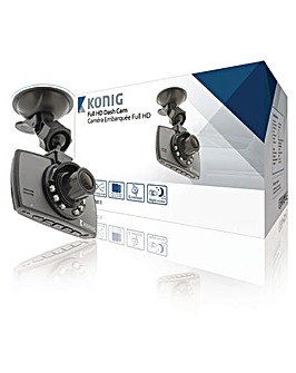"KONIG 2.7"" Dashboard Camera 1920x1080"