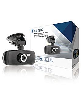 """KONIG Dashboard Camera 2.7"""" 1920x1080"""