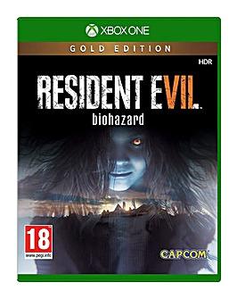 Resident Evil 7 Gold Xbox One