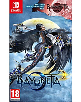 Bayonetta 2  Bayonetta 1 Download Card