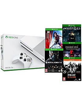 Xbox One 500gb S Inc 5 Action Games