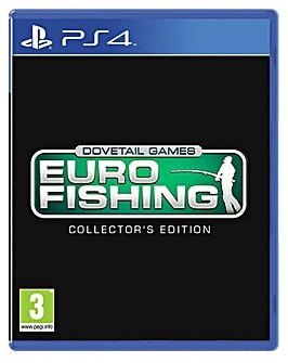 Euro Fishing Sim Collectors Edition PS4