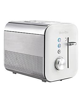 Breville High Gloss White 2Slice Toaster