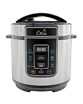 Pressure King Pro 3 Litre Chrome Cooker