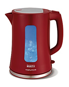 Morphy Richards BRITA Accents Red Kettle