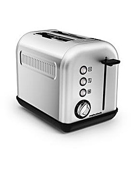 Morphy Richards Steel 2 Slice Toaster
