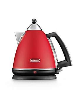 Delonghi Argento Breakfast Red Kettle