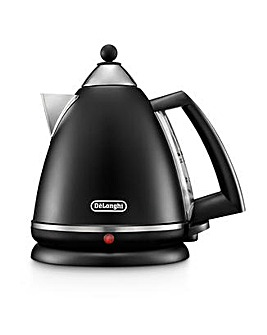 Delonghi Argento Breakfast Black Kettle