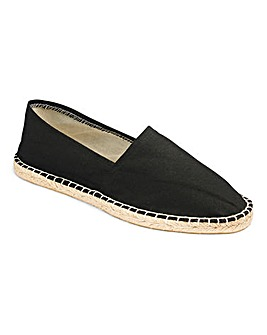 Basic Canvas Espadrilles