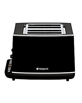 Hotpoint HD Line 4 Slice Black Toaster