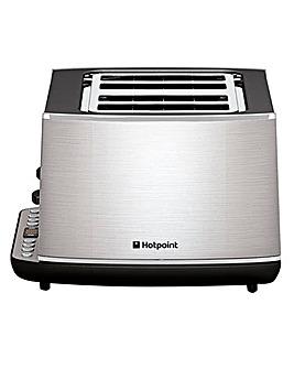 Hotpoint HD Line 4 Slice Steel Toaster