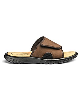 Cushion Walk Touch & Close Mule Sandals